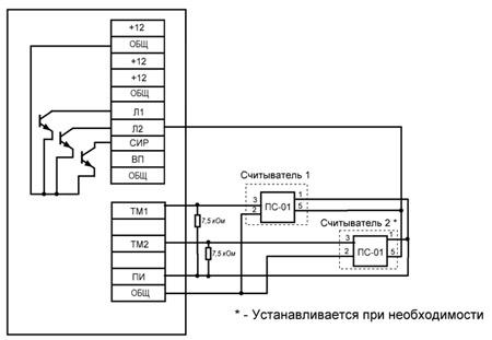 Схема подключения жгута с
