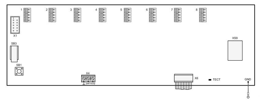 Схема соединений «Гранит Л2»