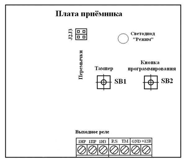 Схема подключения «Лидер 2» к